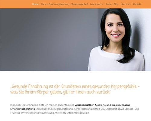 Website Julia Mychalko